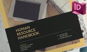 三十页人力资源手册版面设计源文件