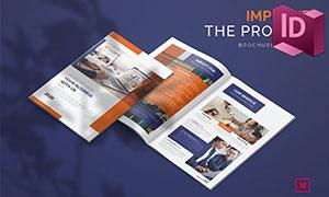 商务场景项目提案画册版式设计模板