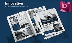 信息发布电子期刊杂志画册版式模板