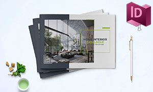 家具产品销售展示画册版式设计模板