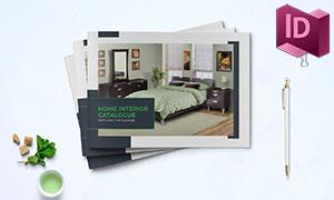 家具产品推介营销画册版式设计模板