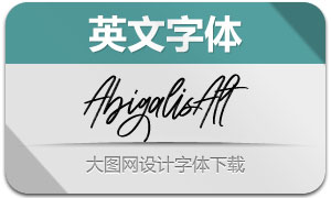 Abigalis-Alt(英文字体)