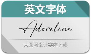 Adoreline(英文字体)