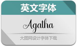 Agilia(英文字体)