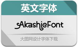 AkashicFont-Regular(英文字体)