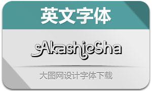 Akashic-Shadow(英文字体)