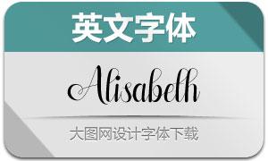 Alisabeth(英文字体)