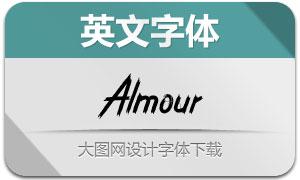 Almour(英文字体)
