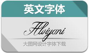 Alviyani-Regular(英文字体)