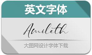 Amileth(英文字体)