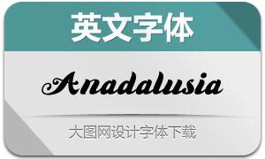 AnadalusiaScript(英文字体)