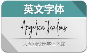 AngelicaJealous(英文字体)