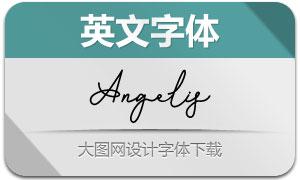 Angelis-Regular(英文字体)