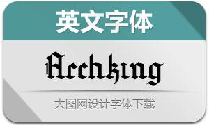 Archking(英文字体)