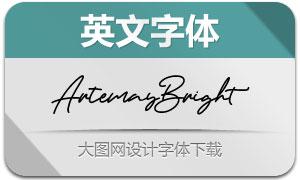 ArtemayBright(英文字体)