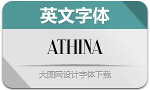 Athina(英文字体)