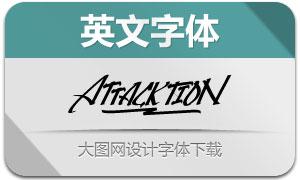 Attacktion(英文字体)