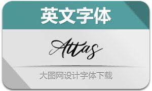 Attas(英文字体)
