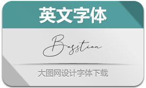 Basstian(英文字体)