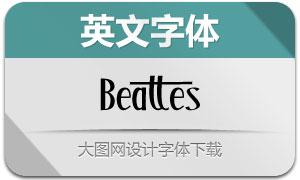 Beattes(英文字体)