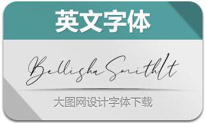 BellishaSmith-Italic(英文字体)