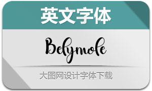 Belymole(英文字体)