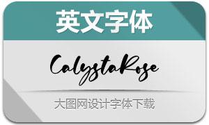 CalystaRose(英文字体)