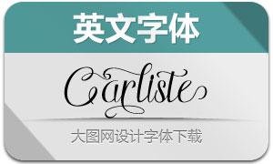 Carliste(英文字体)
