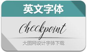 CheckpointScript(英文字体)
