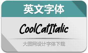 CoolCat-Italic(英文字体)