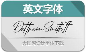 DettreonSmith-Italic(英文字体)