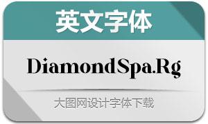 DiamondSparkling(英文字体)