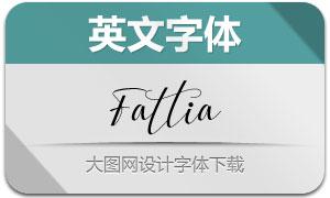 Fattia(英文字体)