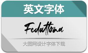 Fedattona(英文字体)