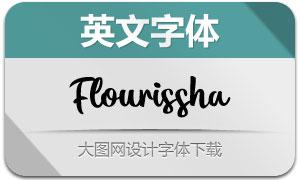 Flourissha(英文字体)