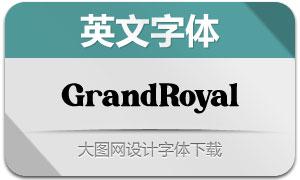 GrandRoyal(英文字体)