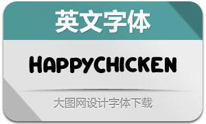 HappyChicken(英文字体)