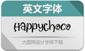 HappyChoco(英文字体)