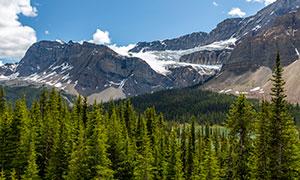加拿大的班夫国家公园摄影高清图片