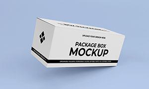 纸质包装盒图案印刷效果样机源文件