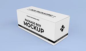 多面可见的包装盒立体展现样机模板