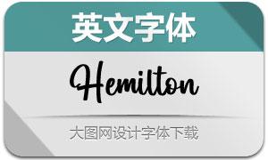 Hemilton(英文字体)
