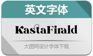 KastaFirald(英文字体)