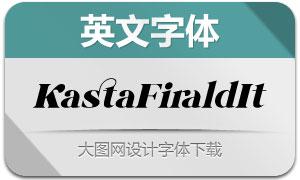 KastaFirald-Italic(英文字体)