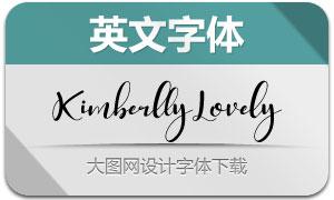 KimberllyLovely(英文字体)