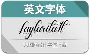 Laylarita-Italic(英文字体)