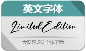 LimitedEdition(英文字体)