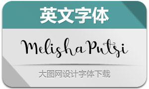 MelishaPutri(英文字体)