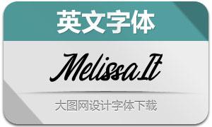 Melissa-Italic(英文字体)
