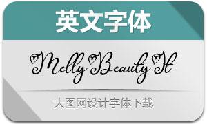 MellyBeauty-Italic(英文字体)